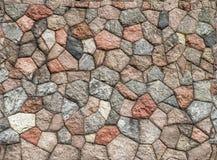 Seamless granite wall. Seamless tileable textures of a cut granite wall made of granite shapes of various colors. Fun fact: Original wall was made between 1910 Royalty Free Stock Photos