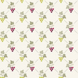 Seamless grape background Royalty Free Stock Image