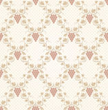 Seamless grape pattern royalty free illustration