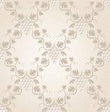 Seamless grape pattern Stock Images
