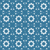 Seamless graphic geometric pattern Royalty Free Stock Images