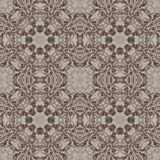 Seamless graphic pattern on canvas Royalty Free Stock Photo