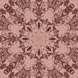 Seamless graphic pattern on canvas Royalty Free Stock Images