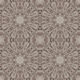 Seamless graphic pattern on canvas Stock Image