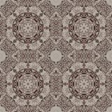 Seamless graphic pattern on canvas Stock Photo