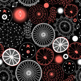 Seamless graphic pattern Royalty Free Stock Photography