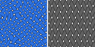 Seamless graphic pattern Stock Image