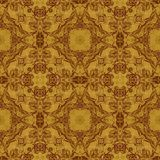 Seamless graphic pattern on veneer Stock Photography
