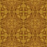 Seamless graphic pattern on veneer Royalty Free Stock Image
