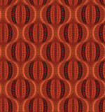 Seamless graphic wallpaper in red scale Royalty Free Stock Images