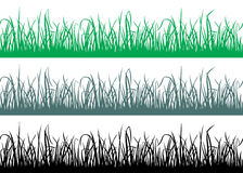 Seamless grass pattern Stock Photography