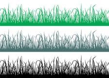 Seamless grass pattern. Vector illustration Stock Photography