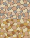 Seamless gravel texture Royalty Free Stock Images