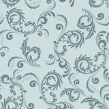 Seamless gray ornament Royalty Free Stock Image