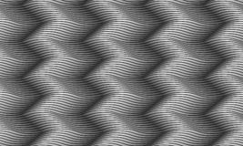 Seamless pattern wavy. Endless gray texture Royalty Free Stock Images