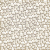 Seamless gray pebble pattern. Image of a seamless gray pebble pattern Stock Photography