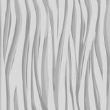 Seamless gray texture. With waves. 10 eps Royalty Free Stock Images