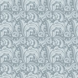 Seamless gray winter pattern. Stock Photos