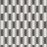 Seamless GrayPattern Created from Circle Intersections Royalty Free Stock Photos