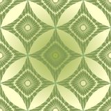 Seamless green abstract background with rhomboid patterns. Seamless green abstract vintage background with rhomboid patterns Royalty Free Stock Image