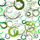 Seamless green abstract pattern Stock Photos