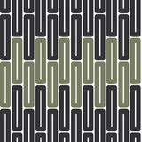Seamless Green Abstract Pattern from Rectangles. Seamless green abstract modern pattern created from rectangles Royalty Free Stock Photo
