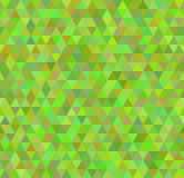 Seamless green background pattern. Seamless green background with triangles eps 10 Royalty Free Stock Image