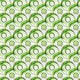 Seamless Green Balls Texture Background. Green transparent tridimensional balls and circles floating around. Seamless background texture Royalty Free Stock Photo