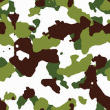 Seamless green camo. Pattern texture Royalty Free Stock Photography