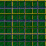 Seamless green checkered pattern Royalty Free Stock Images