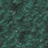 Seamless green crystal texture Stock Image