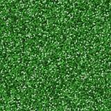 Seamless green 3d ball pattern Royalty Free Stock Image