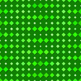Seamless Green Diamond Pattern Stock Image