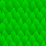 Seamless green forest. Green cartoon forest or scales Royalty Free Stock Image
