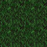 Seamless green grass pattern Stock Image