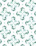 Seamless green herringbone pattern vector Stock Photography