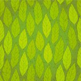 Seamless green leafs Royalty Free Stock Images