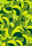Seamless green leaves Royalty Free Stock Photos