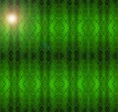 Seamless  green luminous net pattern. Royalty Free Stock Photo