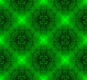 Seamless green pattern Royalty Free Stock Photo