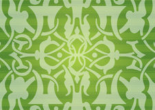 Seamless green pattern Royalty Free Stock Image