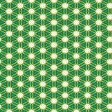 Seamless Green Pattern Design. A completely seamless abstract tile able paper pattern royalty free stock photos
