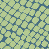 Seamless green pattern with paving stones. Seamless vector green pattern with paving stones Stock Photo
