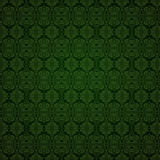 Seamless Green patterned background Stock Photo