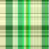 Seamless Green Plaid Pattern. A tartan plaid design which can be tiled as a repeating pattern stock photos