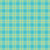 Seamless Green tartan pattern vector Stock Photography