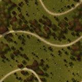Seamless Green Terrain Background Stock Photos