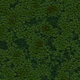 Seamless Green Terrain Background. It can be used as a texture Stock Photo