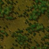 Seamless Green Terrain Background Royalty Free Stock Photo
