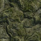 Seamless Green Terrain Background Royalty Free Stock Image